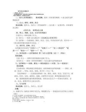 初中政治答题技巧.doc