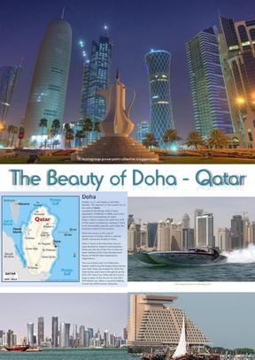 卡塔尔,多哈的美丽.ppt