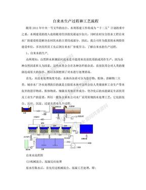 自来水生产过程和工艺流程.doc