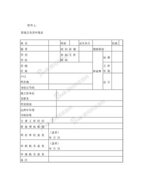 辞退公务员审批表.doc