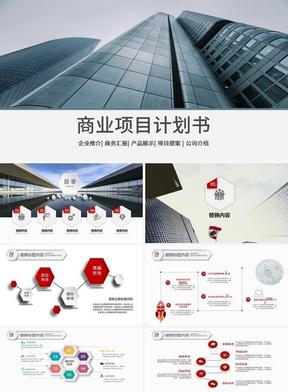 商业项目计划书模板ppt.pptx