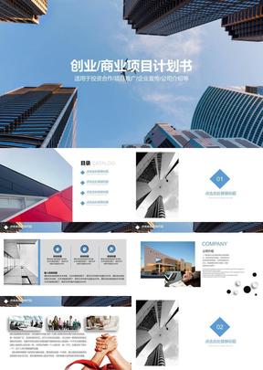 创业商业项目计划书.pptx