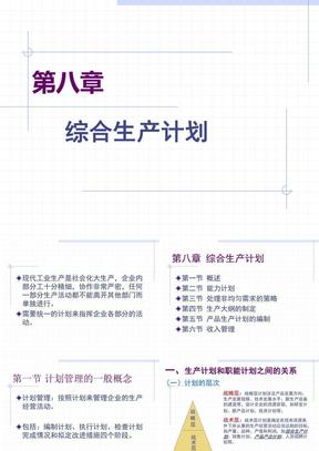 第8章_综合生产计划.ppt
