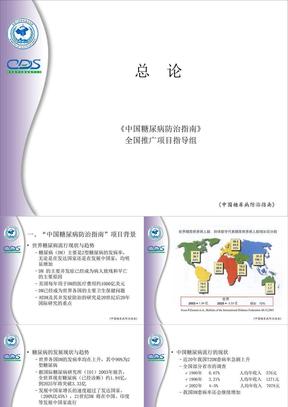 中国糖尿病防治指南1.ppt