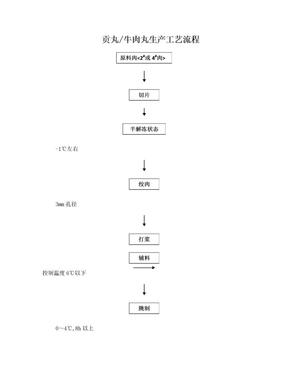 肉丸生产工艺流程.doc
