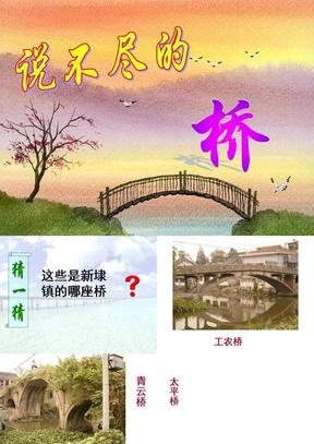 说不尽的桥(综合性学习).ppt
