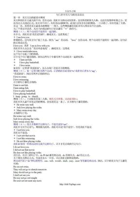 专门替中国人写的英语语法(彩印版)..doc