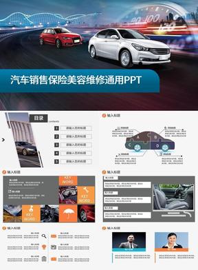 汽车维修美容配件4S店售后保养方案.pptx