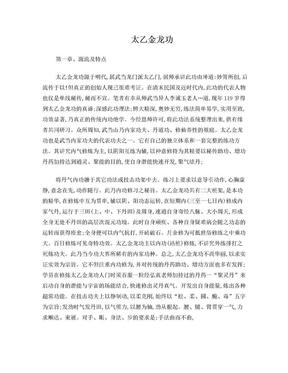 太乙金龙功.doc
