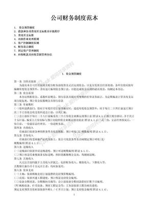 公司财务制度范本.doc