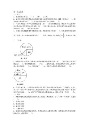 2019年苏教版数学六年级下册 第一单元测试附答案.doc