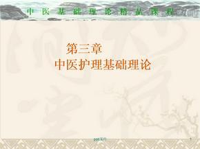 中医护理基础理论  ppt课件.ppt