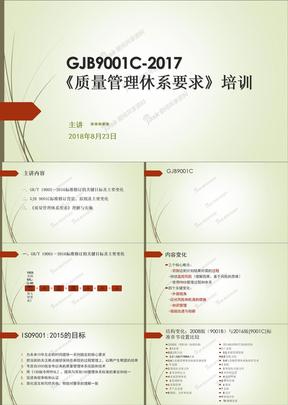 【5A文】2018最新GJB9001C-2017培训课程.ppt