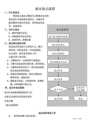 超市盘点流程整理版.doc