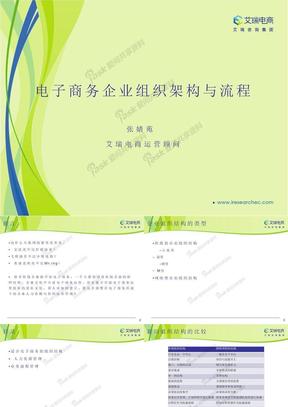 电子商务企业组织架构与流程.pptx