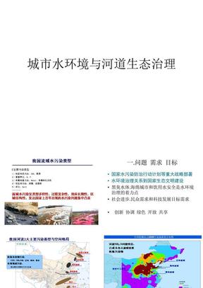 城市水环境与河道生态治理.ppt