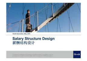 翰威特-薪酬结构设计.pdf