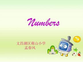 小学英语1-10_数字微课-新.ppt