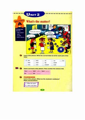 新目标英语八年级上册电子书新目标英语初二上册电子书Unit2