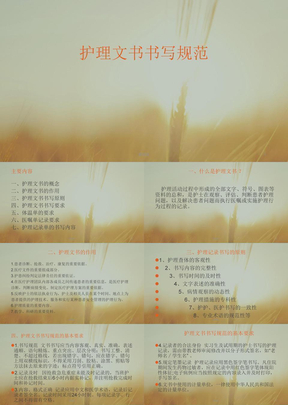 2017护理文书书写规范ppt课件