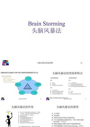 头脑风暴法的流程图 ppt课件