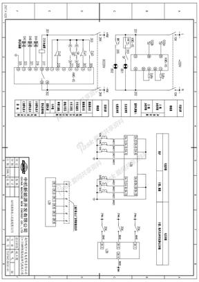 6KV联络柜二次接线图2.5