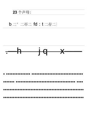 汉语拼音地书写格式