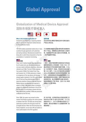 国际市场医疗器械准入