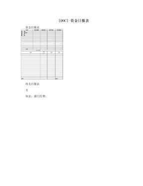 [DOC]-资金日报表