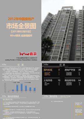 [精选]中国房地产市场全景分析ppt模板现代建筑高楼大厦中国房地产数据分析房地产ppt