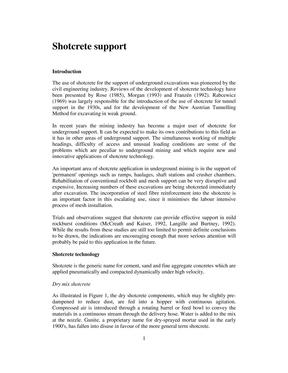 喷射混凝土支护Shotcrete_support