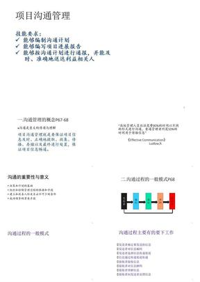 项目沟通管理(ppt 79页)