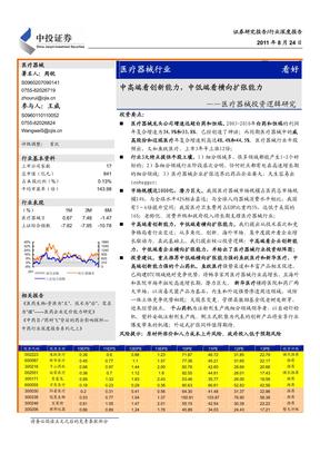 医疗市场分析