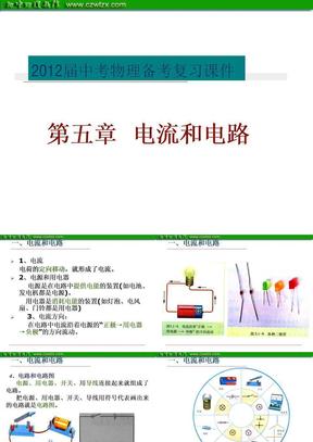 2012届中考物理备考复习:第五章电流和电路ppt课件