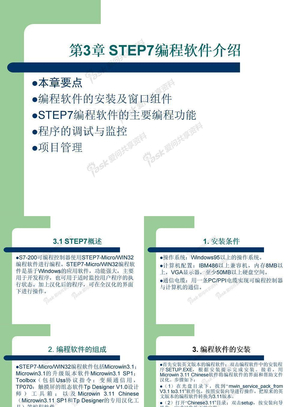 第三章  STEP7-MircoWIN编程软件介绍