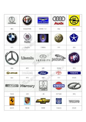 世界名车集合
