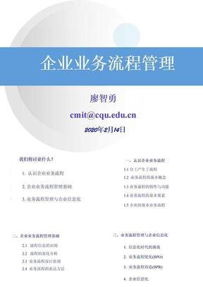 企业业务流程管理