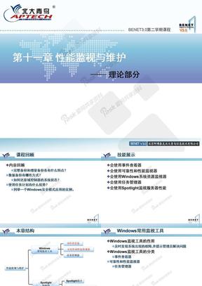 Windows server 2008系统管理_chap11_性能监视与维护