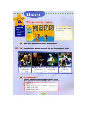 新目标英语八年级上册电子书新目标英语八年级上册电子书Unit9