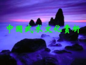 1.中国武术文化赏析幻灯片1