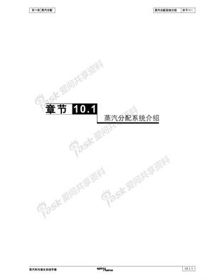 10.1蒸汽分配系统介绍
