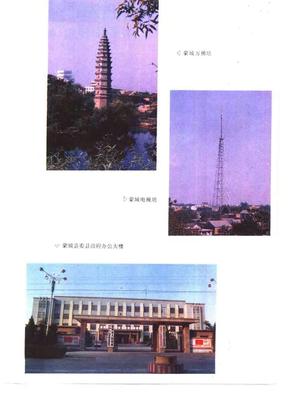 安徽省 蒙城县志