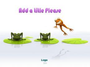 3D卡通动物设计ppt模板