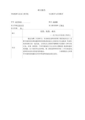 教育研习报告33131