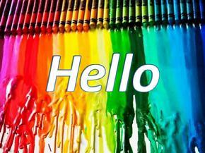 colours 小学英语颜色学习ppt课件