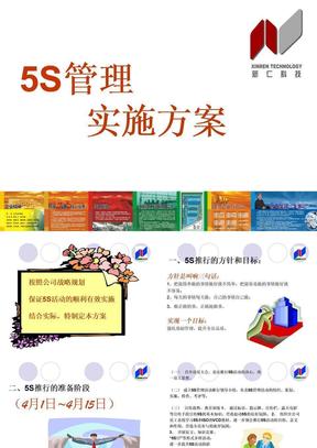 5S管理实施方案1