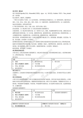 系统集成项目管理工程师整体笔记2