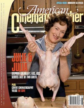 《美国电影摄影师》杂志2009-08