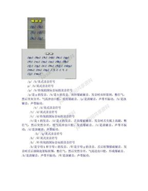 英语国际音标(英式英语)48个音标发音规则[1]..