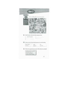 义务教育教科书英语八年级上册电子书Unit2